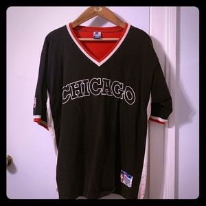 Champion Shirts - Chicago Bulls vintage 1996-97 shooting shirt